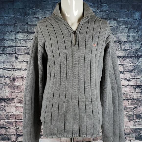 Ralph Lauren Other - Ralph Lauren Cotton Heavy 1/2 Zip Sweater Large